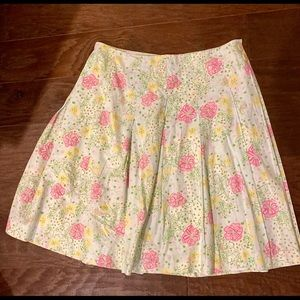 Beautiful Lilly Pulitzer Size 4 Skirt Great Cond